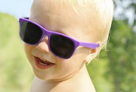 小孩也要戴太阳镜?Do kids need to wear sunglasses?